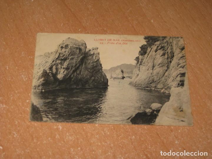 POSTAL DE LLORET DE MAR (Postales - España - Cataluña Antigua (hasta 1939))