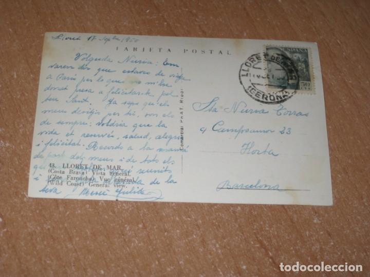 Postales: POSTAL DE LLORET DE MAR - Foto 2 - 226139475