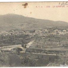 Postales: LA GARRIGA - VISTA GENERAL. A.T.V. 3701, CIRCULADA EN 1912.. Lote 226399072