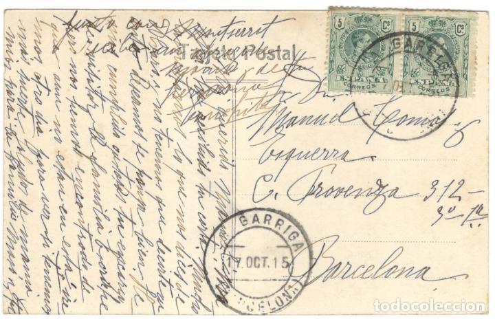 Postales: POSTAL FOTOGRAFICA. LA GARRIGA. MOLINO BLANCAFOR E.R. 15. - Foto 2 - 226399625