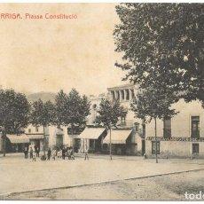 Postales: LA GARRIGA. PLASSA CONSTITUCIÓ. Nº 6 FOT. THOMAS, SIN CIRCULAR.. Lote 226399916