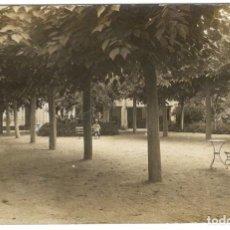 Postales: POSTAL FOTOGRAFICA. LA GARRIGA. PASSEIG. CIRCULADA EN 1917.. Lote 226400178