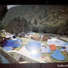 Postales: Nº 41418 POSTAL LERIDA PIRINEOS CENTRALES SORT CAMPING DEL NOGUERA. Lote 227212200