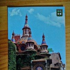 Postales: POSTAL - LLORET DE MAR (COSTA BRAVA) - IGLESIA PARROQUIAL.. Lote 228007680