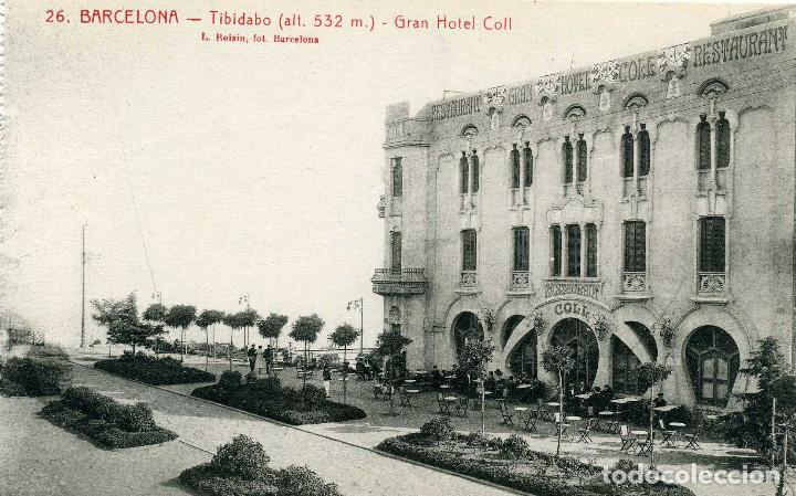 BARCELONA - TIBIDABO (Postales - España - Cataluña Antigua (hasta 1939))