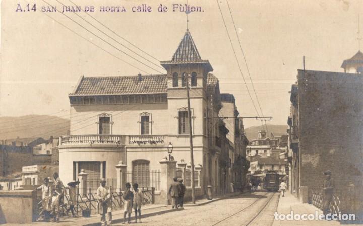SAN JUAN DE HORTA. A14 CALLE DE FULTON. FOTOGRÁFICA (Postales - España - Cataluña Antigua (hasta 1939))
