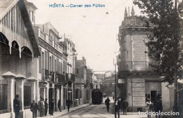 HORTA CARRER DEN FULTON. FOTOGRÁFICA (Postales - España - Cataluña Antigua (hasta 1939))