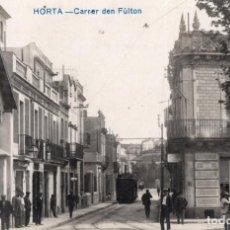 Postales: HORTA CARRER DEN FULTON. FOTOGRÁFICA. Lote 229571025