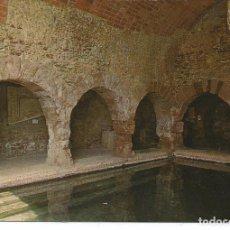 Postais: POSTAL CALDAS DE MONTBUY - TERMAS ROMANAS - FISA 1970. Lote 230013040