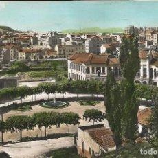 Postais: [POSTAL] PLAZA ESPAÑA Y VISTA PARCIAL. MANRESA (BARCELONA) AÑO 1959 (CIRCULADA). Lote 230580020
