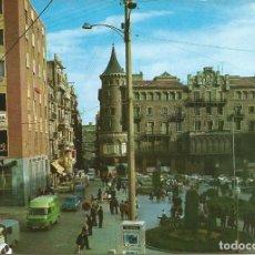 Postais: [POSTAL] PLAZA STO. DOMINGO Y CALLE BORNE. MANRESA (BARCELONA) AÑO 1970 (CIRCULADA). Lote 230580290