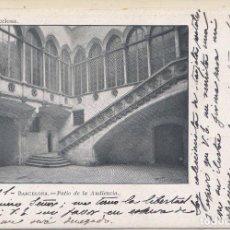 Postales: BARCELONA - PATIO DE LA AUDIENCIA. Lote 231087210