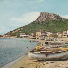 Postales: POSTAL COSTA BRAVA ESTARTIT (GIRONA). PLAYA , AL FONDO EL MONTGRI. Lote 233240265