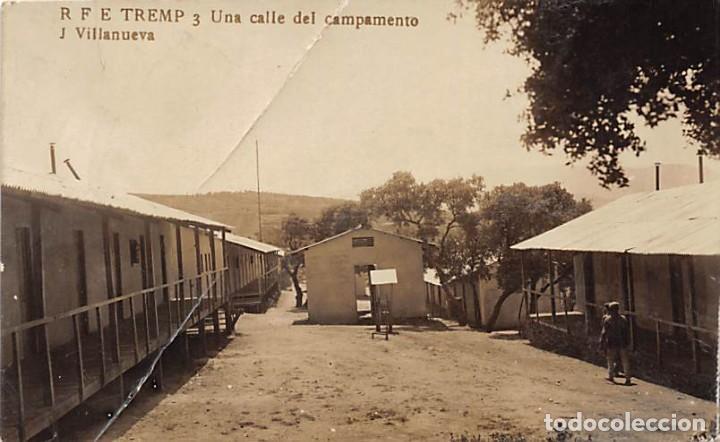 TREMP.- UNA CALLE DEL CAMPAMENTO (Postales - España - Cataluña Antigua (hasta 1939))