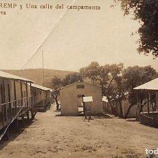 Postales: TREMP.- UNA CALLE DEL CAMPAMENTO. Lote 233506025