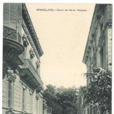 Postales: GRANOLLERS - CARRER DE MARIAN MASPONS. HUECO GRABADO JOAQUIN MUMBRÚ.. Lote 234376645