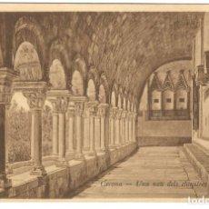 Postales: GERONA - UNA NAU DELS CLAUSTRES DE LA SEU. ED. D.C.P. SIN CIRCULAR.. Lote 234503935