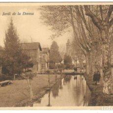 Postales: GERONA - JARDI DE LA DEVESA. ED. D.C.P. SIN CIRCULAR.. Lote 234504240