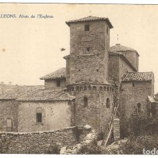 Postales: VILALLEONS. ABSIS DE L'ESGLÉSIA. Nº8. HUECOGRABADO JOAQUÍN MUMBRÚ.. Lote 234511505