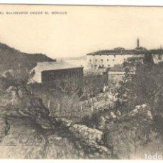 Postales: CARDÓ. EL BALNEARIO DESDE EL BOSQUE. CIRCULADA EN 1927.. Lote 234568205