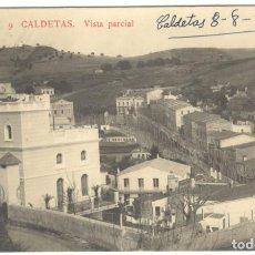 Postales: POSTAL FOTOGRAFICA. CALDETAS. VISTA PARCIAL. J.B. 9. Lote 234672520