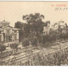 Postales: CALDETAS. CALLE DE LA PAZ, Nº14 - FOTOTIPIA THOMAS.. Lote 234676655
