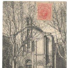 Postales: CALDETAS - CAPILLA DE NTRA. SRA. DEL CARMEN A.T.V. 622.. Lote 234745635