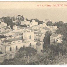 Postales: CALDETAS - VISTA GENERAL. A.T.V. -3142.. Lote 234746425