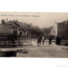 Postales: MOLINS DE REY.- CARRER CARRER DE MOSEN C. VERDAGUER. POSTAL FOTOGRÁFICA.. Lote 234798610