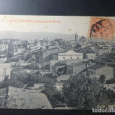 Cartes Postales: FIGUERAS GERONA VISTA GENERAL NORTE ED. ATV Nº 513 BIS. Lote 234898690