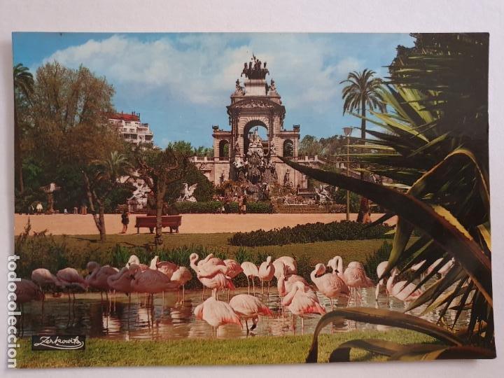 BARCELONA - PARC DE LA CIUTADELLA - CASCADA - P42769 (Postales - España - Cataluña Moderna (desde 1940))