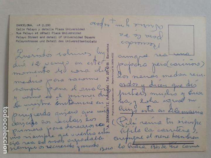 Postales: BARCELONA - CARRER PELAI / PELAYO - ALMACENES EL ÁGUILA - P42771 - Foto 2 - 234904275