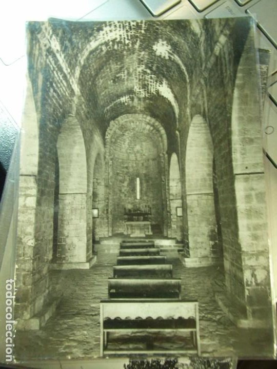 PALERA INTERIOR DE LA BASILICA (SIGLO XI) - ED. SANTUARIO DE PALERA (Postales - España - Cataluña Moderna (desde 1940))