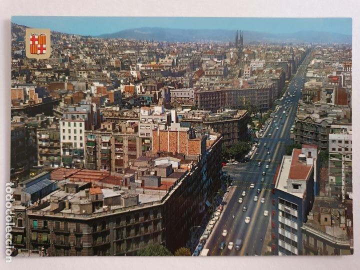 BARCELONA - CARRER D'ARAGÓ / CALLE ARAGÓN - P42778 (Postales - España - Cataluña Moderna (desde 1940))