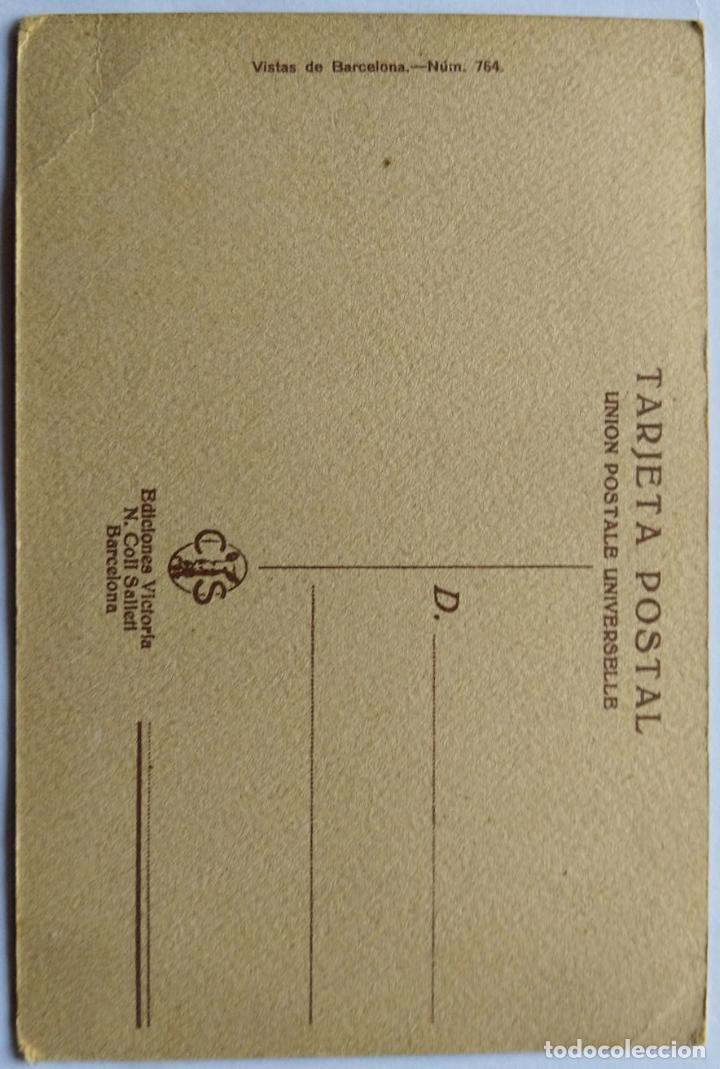 Postales: BARCELONA HOTEL COLON PASEO DE GRACIA ILUSTRADOR BRUNET N 764 - Foto 2 - 234923420
