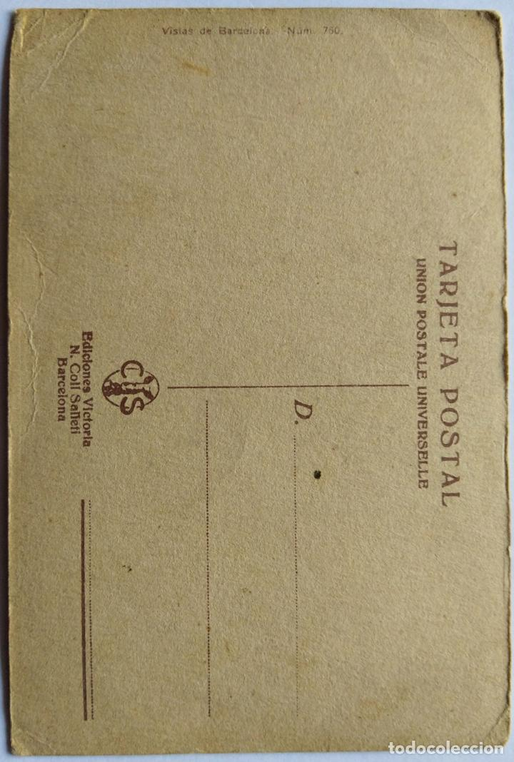 Postales: BARCELONA MONUMENTO A RIUS Y TAULET ILUSTRADOR BRUNET N 750 - Foto 2 - 234923850