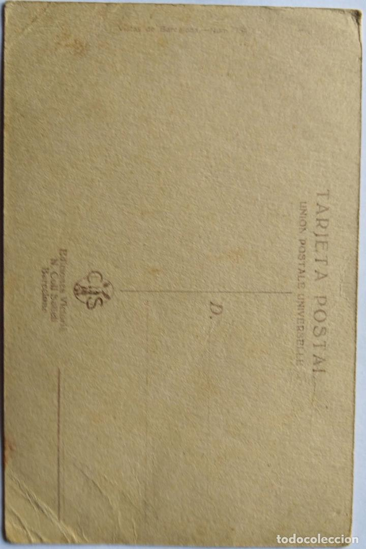 Postales: BARCELONA ESTACION DEL NORTE ILUSTRADOR BRUNET N 754 - Foto 2 - 234925335