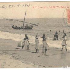 Postales: CALDETAS - BAÑOS DE MARCELINO. A.T.V. 3151.. Lote 235194105