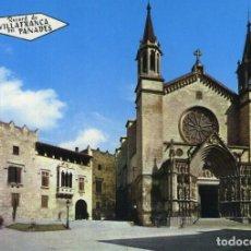 Postales: LOTE DE 7 POSTALES DE VILAFRANCA DEL PENEDES. Lote 235301640
