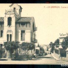 Postales: NUMULITE P0166 POSTAL 7 LA GARRIGA CARRER DEL FIGUERAL FOTOTIPIA THOMAS. Lote 235531010
