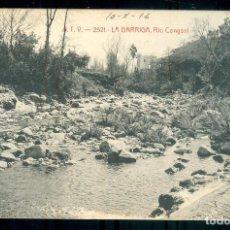 Postales: NUMULITE P0168 POSTAL ATV A.T.V. 2521 LA GARRIGA RIO CONGOST ÁNGEL TODRÁ VIAZO. Lote 235539075