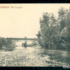 Postales: NUMULITE P0173 POSTAL 10 LA GARRIGA RIU CONGOST FOTOTIPIA THOMAS. Lote 235546335