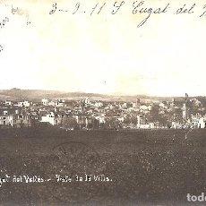Postales: BARCELONA - SANT CUGAT DEL VALLÉS, VISTA DE LA VILLA.. Lote 235799165