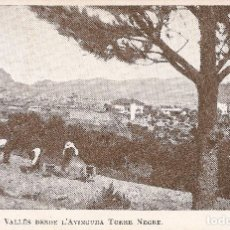 Postales: BARCELONA - SANT CUGAT DEL VALLÉS, DESDE L'AVINGUDA TORRE NEGRE.. Lote 235801620
