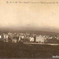 Postales: BARCELONA - SANT CUGAT DEL VALLÉS, VISTA GENERAL II. Lote 235802815