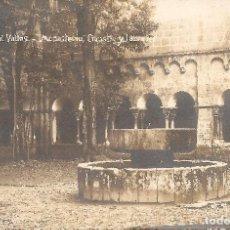 Postales: BARCELONA - SANT CUGAT DEL VALLÉS, MONASTERIO, CLAUSTRO Y LAURELES.. Lote 235806445