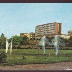 Postales: BARCELONA. *EL HOSPITAL INFANTIL SAN JUAN DE DIOS DESDE EL PARQUE CERVANTES* NUEVA.. Lote 236000320