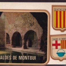 Postales: CALDES DE MONTBUI. *PISCINA. TERMAS ROMANAS* POSTAL ADHESIVA. ED. FISA Nº 146. NUEVA.. Lote 236007605