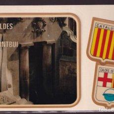 Postales: CALDES DE MONTBUI. *FONT DEL LLEÓ* POSTAL ADHESIVA. ED. FISA Nº 145. NUEVA.. Lote 236007980