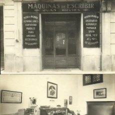 Postales: (PS-64313)LOTE DE 3 POSTALES FOTOGRAFICAS DE BARCELONA-MAQUINAS DE ESCRIBIR JUAN ROVIRA. Lote 236219830